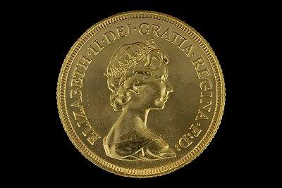 Libra Isabel II Inglaterra